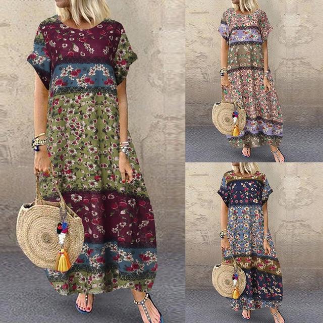 comfy swing summer dress 6