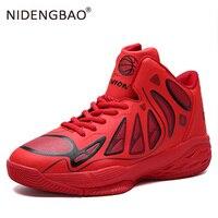 Männer Basketball Schuhe im freien Sportlich Männlichen Turnschuhe Atmungsaktive Sport Trainer Männer Hohe Top jordan basketball zapatillas