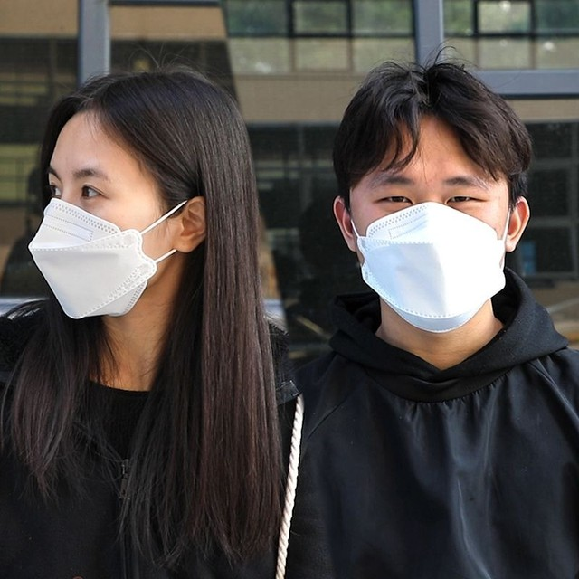 Face Masks 3PCS Face PM2.5 Valved Mask Anti Bacteria Filtered Flu Filter Earloop Masks For Germ Protection 2