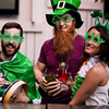 Saint Patrick's Day Props Green Clover Glasses Accessories Ireland Festival Dress Up Photobooth for St. Patrick Party Decoration 4
