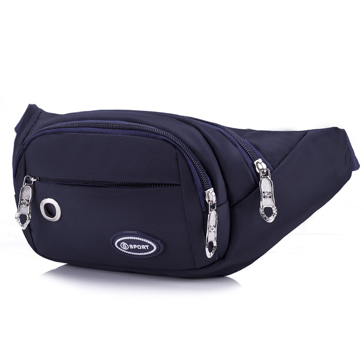 2019 Korean-style Waterproof Oxford Cloth Sports Waist Pack Men Multi-functional Cash Storage Bag Running Mobile Phone Small Wal