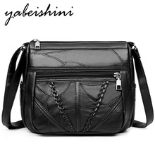 100% real sheepskin Shoulder Bag luxury handbags women bags designer Genuine Leather bags for women 2019 sac main Messenger Bags цены онлайн