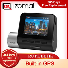 70mai – Dash Cam Pro Plus + 70mai A500S, mise à niveau, caméra arrière, moniteur de stationnement 24H