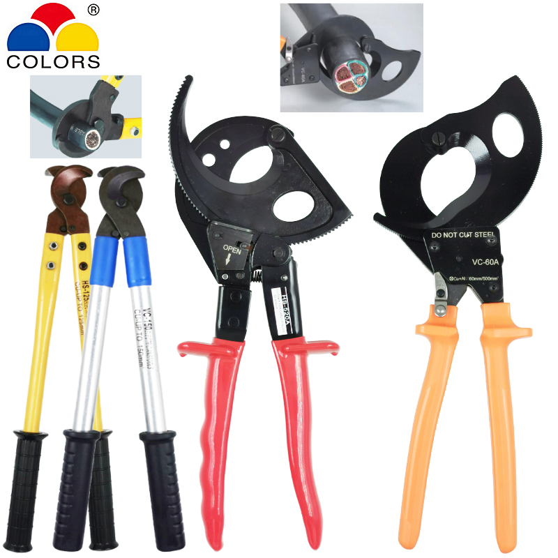 Large Cable Cutter Pliers For 500mm2 Copper And Aluminum Cables Manual And Automatic Cutting Pliers Electrician Hand Tools