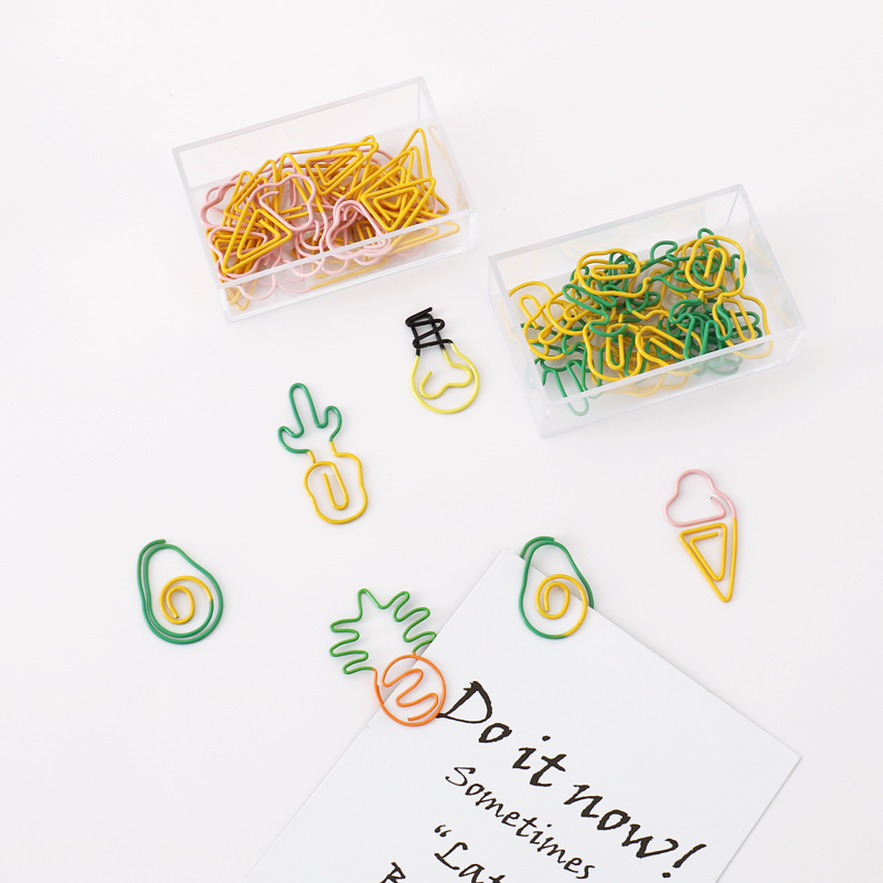 Festively Fun Paperclips (Pineapples, Avocados, Cacti, Lightbulbs & Ice cream) 3