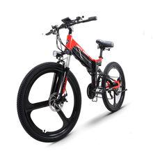 26 polegada de bicicleta montanha elétrica 48v500w alta velocidade do motor leve quadro escondido bateria lítio 499wh ebike elétrico