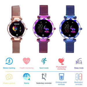 Image 4 - HI18 Women Lady Smart Watch Fitness Tracker Bracelet Female Heart Rate Blood Pressure Monitor Smartwatch For Androi Phone