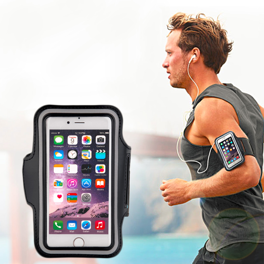 New Waterproof Sports Running Case Workout Mobile Phone Holder Pouch For Iphone Cell Phone Arm Bag Bands Running Bag