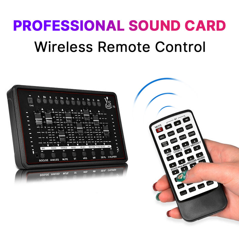 Professional Sound Card Audio Interface Sound Card For bm 800 Studio Microphone For Recording Microphone Broadcast Guitar-in Sound Cards from Computer & Office    1