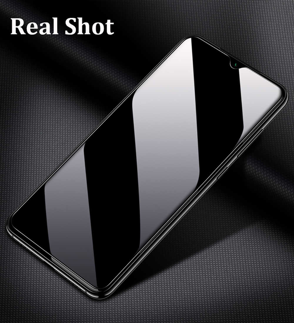 2-In-1 التغطية الكاملة واقي للشاشة ل OPPO Realme C3 الزجاج المقسى ل Realme C3 حامي عدسة الكاميرا الزجاج