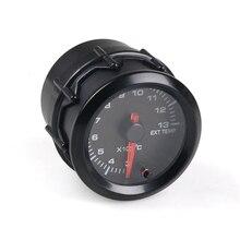 Автомобильный Универсальный термометр для выхлопных газов 52 мм указатель гоночный автомобиль модификация запчасти Инструмент датчик температуры