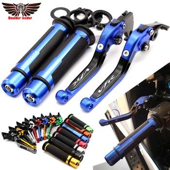 Para Honda VFR 750 1991-1997 VFR 800 F VFR800 F 2002-2017 motocicleta ajustable plegable embrague palancas manillar mangos