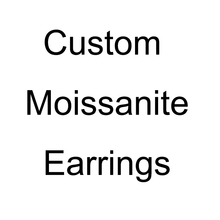 Custom Moissanite Earrings, Please contact us before purchase