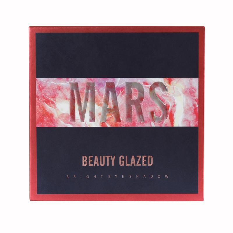 Beauty Glazed 9 оттенков тени для век Палитра пудра Макияж мерцающие матовые тени для век TSLM1