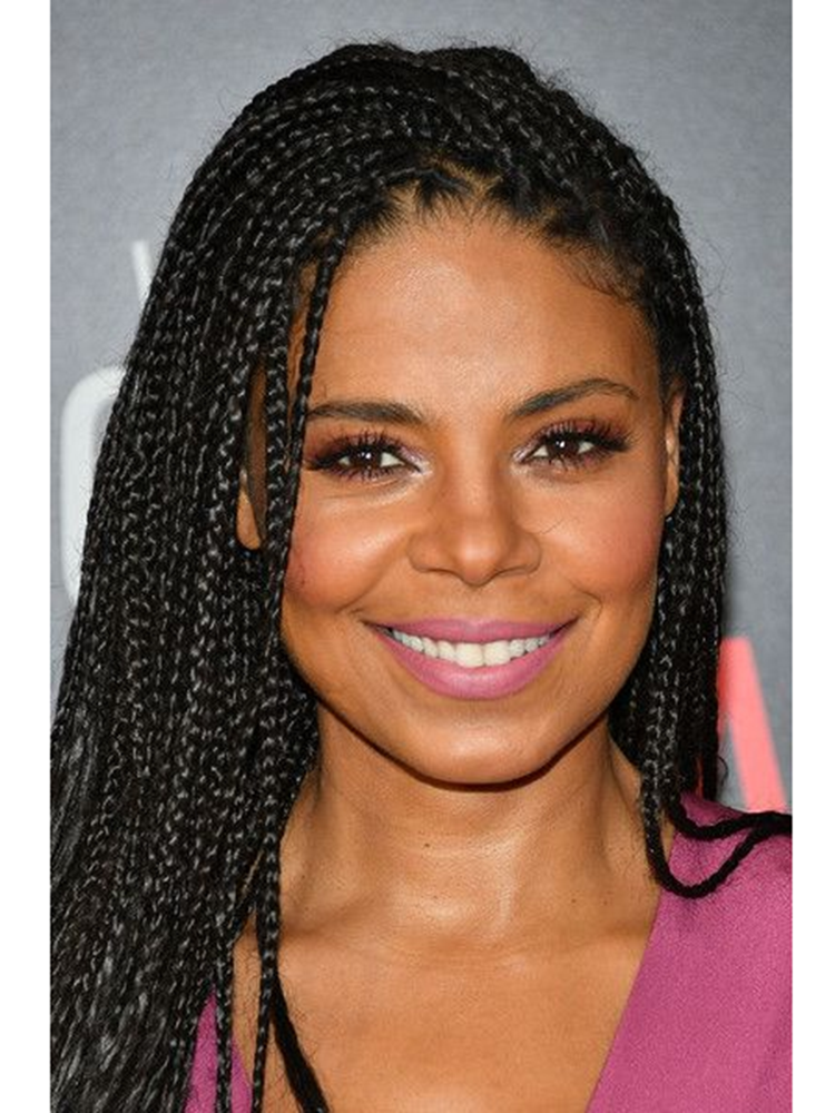 AIMEYA Braids-Wig Wigs Hair Short Micro-Box Fiber Bob Lace-Front Black-Women Synthetic