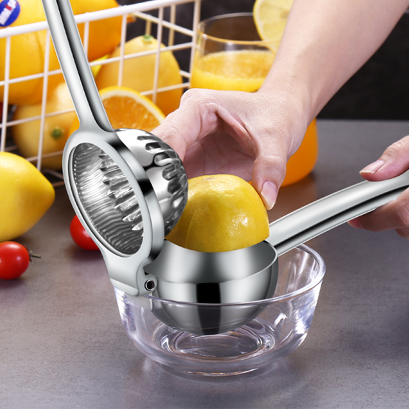 Lemon Manual Juicer 304 Stainless Steel Natural Juice Extractor House Hold Kitchenware