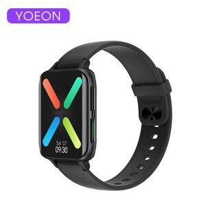 Умные часы YOEON для мужчин и женщин, водонепроницаемые Смарт-часы с Bluetooth, монитором здоровья для OPPO, Android, Apple, Xiaomi, Huawei, 2020