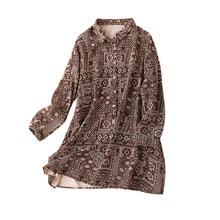 Long Shirts Women Indie Folk Print Free Shipping Items Clothes for Women Blusas Mujer De Moda 2020 Verano Long Sleeve Blouse