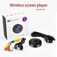 1080p leitor de tela sem fio wifi display tv dongle receptor hd tv vara airplay mídia streamer adaptador mídia para android tv
