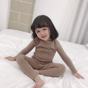Image 2 - Spring Baby Boy Girl Soft Cotton Pajamas Clothes Set Sleepwear Nightwear Outfit for Newborn Infant Children Cloth Kid Clothing