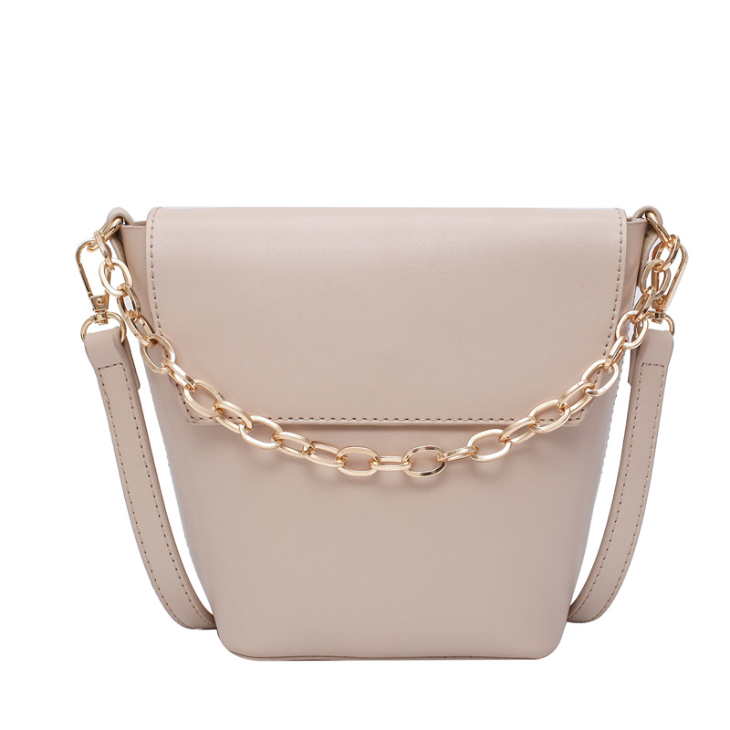 Casual Crossbody Bags Fashion Women's Handbags Chains Top-handle New PU Leather Temperament Messenger Shoulder Bags Female Totes