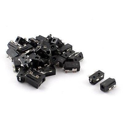 Işıklar ve Aydınlatma'ten Konnektörler'de 30 adet 4 Pin Yüzey Montaj Lehimleme 2.5mm Kadın Ses soketli konnektör title=