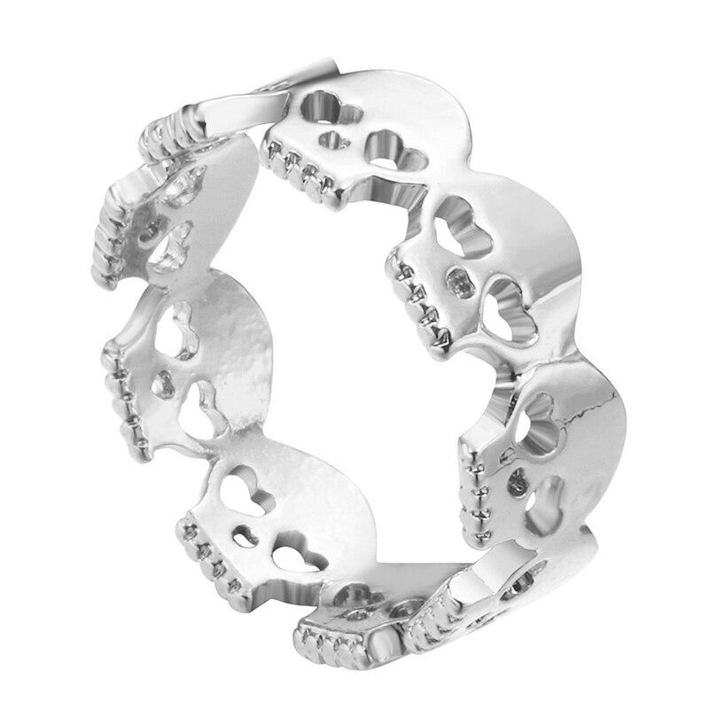 Кольцо женское в стиле панк/хип-хоп, Размер 7