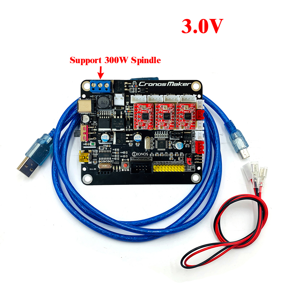 CNC 3018Pro 3axis 4axis GRBL Offline Control Board Stepper Motor Double Y Axis USB Driver  Board For CNC Laser Engraving Machine