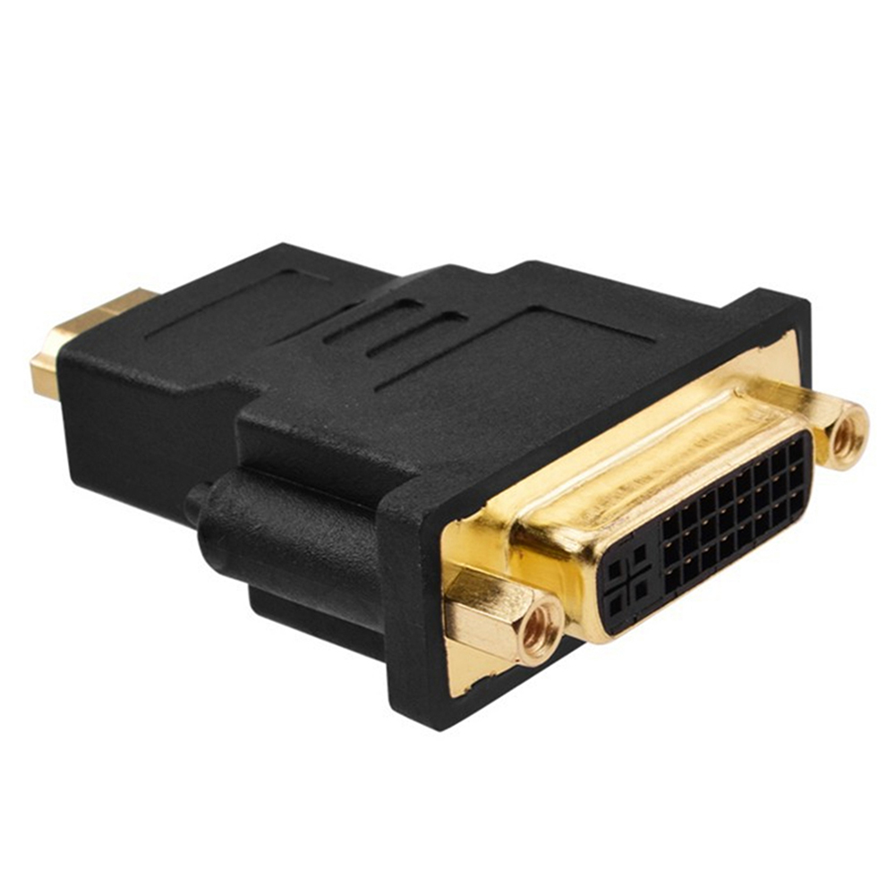 New HDMI Conveter Adapter HDMI Male To DVI DVI-I 24+5 Female Adapter Conveter For Graphic Card Video Player HDMI To DVI