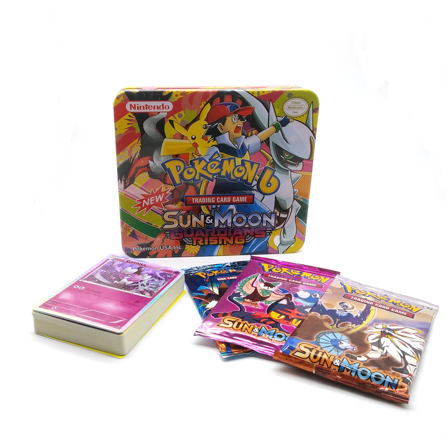 69Pcs Cards Per Box New POKEMON Card English Version Pokemon  Battle Collection Card Box Kids Toy Gift