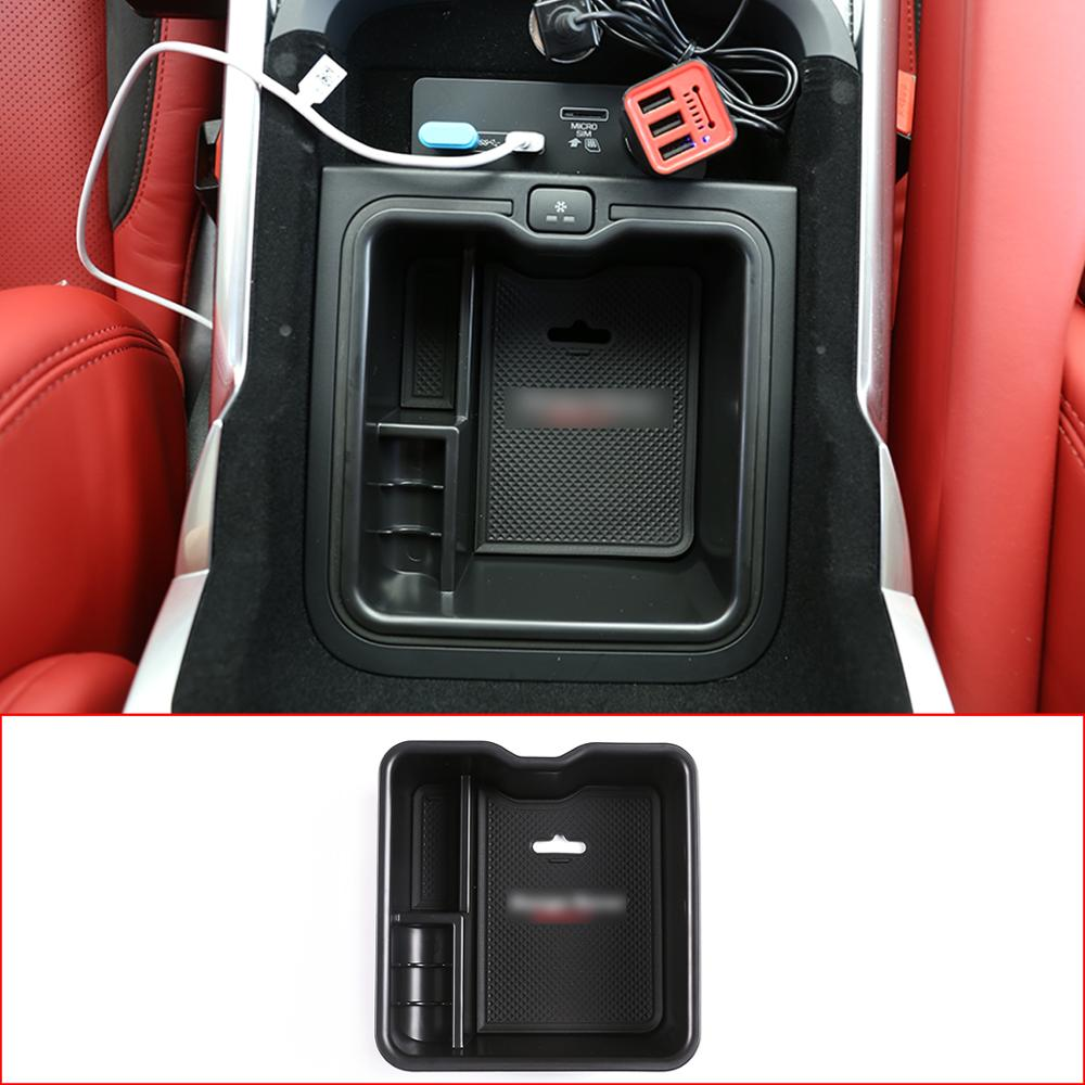 Without Refrigerator ABS Plastic Central Armrest Storage Box LHD For RR Sport Vogue 2014-2017