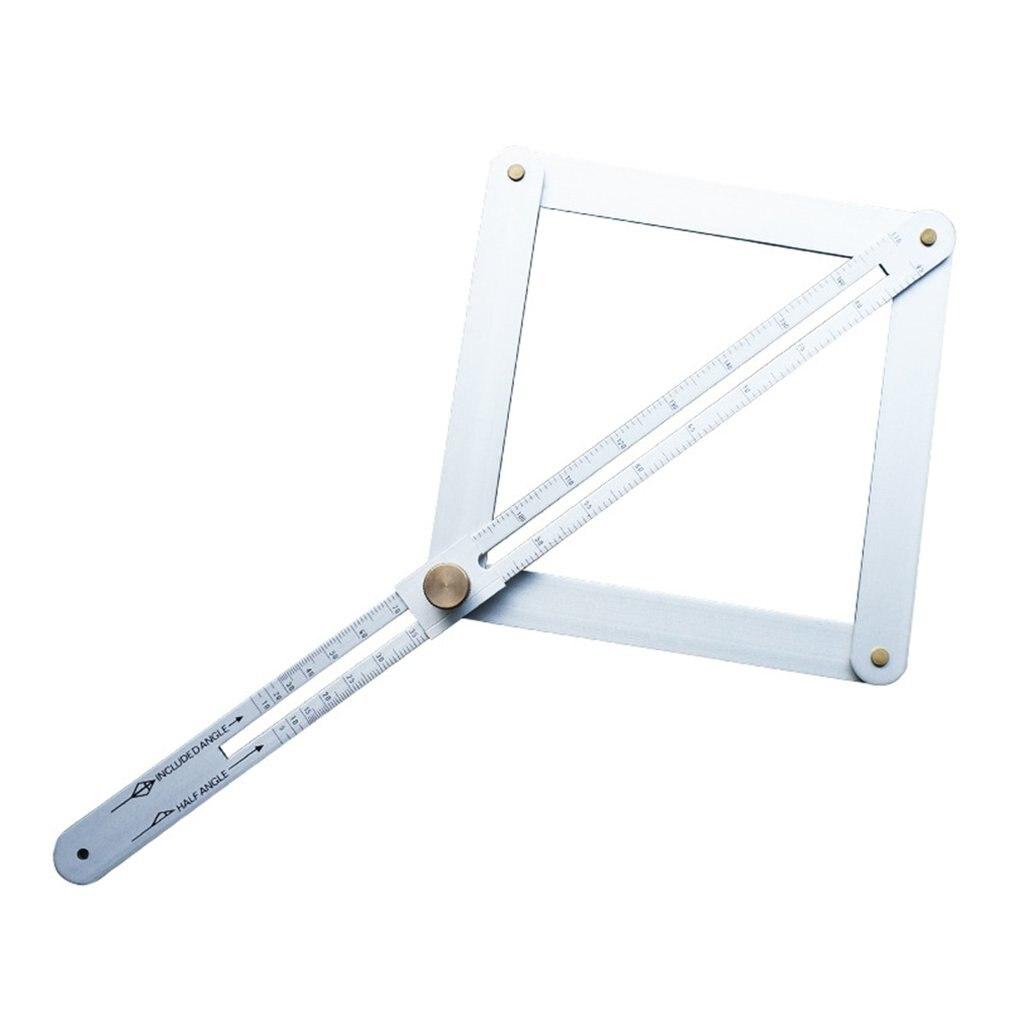 Metal Artifact Square Conveyor Tool Angle Ruler Finder Instrument Conveyor Angle Goniometer