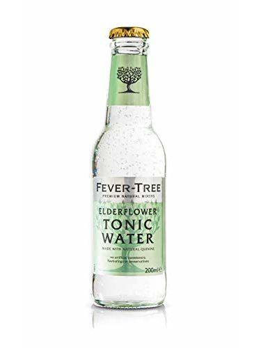 Fever-Tree Elderflower Tonic MW Flaschen MEHRWEG, 24er Pack, 200 Ml