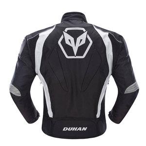 Image 2 - אופנוע גברים מוטוקרוס חליפות Jacket & מכנסיים Moto מעיל ציוד מגן שריון אופנוע בגדי רכיבה מעילים