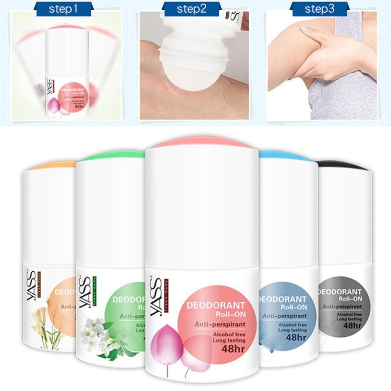 Body Antiperspirants Underarm Deodorant Bottle Anti-Sweat For Man Women HJL2019