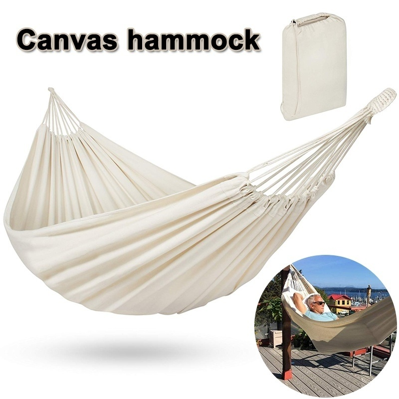 Swing Bed Hanging-Chair Rated Cotton Hammock Survival Outdoor Travel-Top Backpack Quality-Equipment
