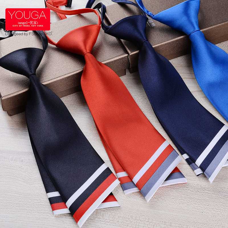 Fashion Women Lady Professional Uniform Neckties Female College Student Bank Hotel Staff Woman Bow Ties Business Neck wear(China)