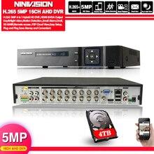 4 МП 5 Мп CCTV DVR Hi3531 XMeye 16 каналов 16 каналов 6 в 1 коаксиальный Гибридный XVI NVR CVI TVI AHD DVR USB Wi Fi видеорегистратор