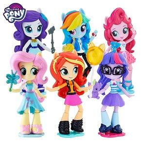 Figuras de acción de My Little Pony, modelos de PVC de la amistad y el arco iris mágico, juguetes de Anime para niños, muñecas Reborn