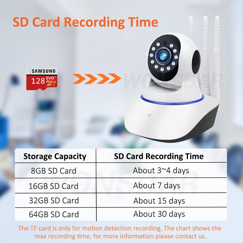 SD卡录制时间