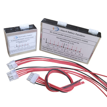 Balanceador activo 5A-8A, ecualizador 4S Lipo Lifepo4, batería de ion de litio BMS, placa de módulo de conversión dinámica de corriente de alta Blance 2