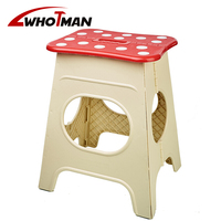18 inch Folding Step Stool for Adult and Kids Height Premium Heavy Duty Foldable Stool Kitchen Garden Bathroom Stepping Stool|Stools & Ottomans| |  -