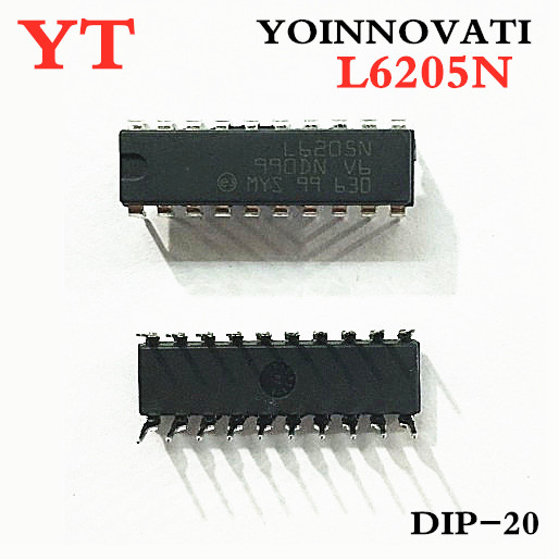 10pcs <font><b>L6205N</b></font> L6205 DIP-20 IC Best quality image