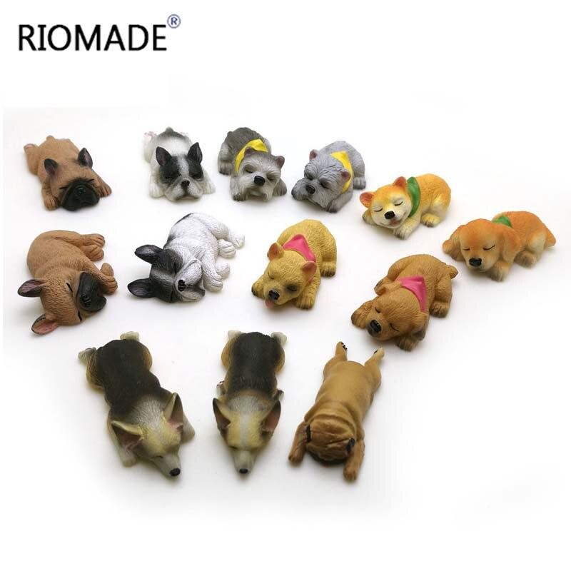 Corgi Bulldog Silicone Fondant Molds 13 Dogs Shape Animal Cake Decorating Tools Chocolate Dessert Polymer Clay Mould F0661XG