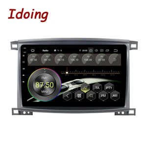 """Image 3 - Idoing 9""""/10.2 inch Octa Core Car Android 9.0 Radio Multimedia Player For Toyota Land Cruiser LC 100 2002 2007 GPS Navigation"""