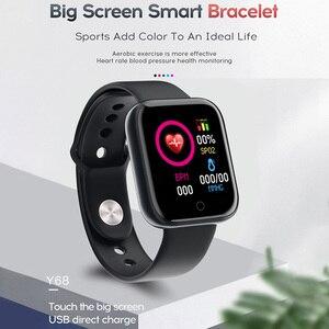 Image 3 - Смарт часы Y68 с фитнес трекером, водонепроницаемые, с Bluetooth