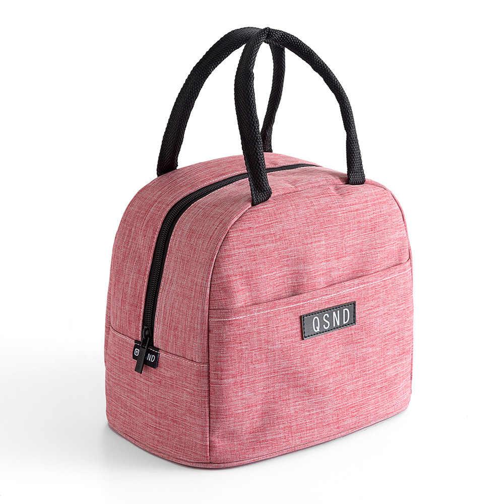 Bolsa térmica para comida de bebé, bolsa de Picnic térmica, bolsas de aislamiento, bolsa Oxford impermeable para el almuerzo, calentador de Comida Infantil bolsa de mamá