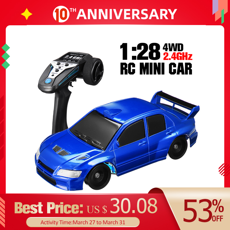 1PCS TRQ1 2.4G RC Car 1:28 Mini Drift RC Car High Speed Car Remote Control Car Toys Racing Drifting Toys For Children