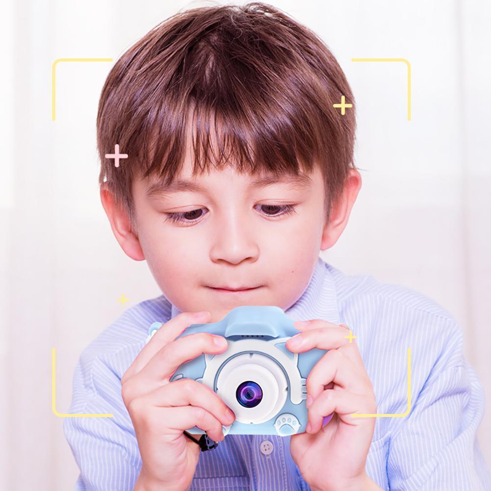 H67e2f1ded7da482582c26c11aba5de3ea Mini Cartoon Kids Camera Creative Children's Camera HD Digital Camera Portable 1080P Camera For Kids Birthday Christmas Gift