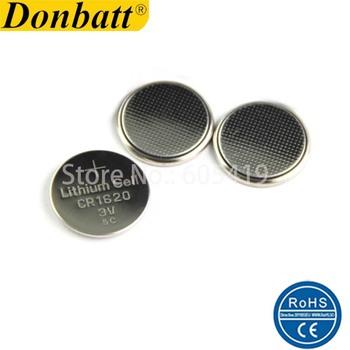1000 sztuk partia 100 świeże 3v CR1620 litowy przycisk jednostki baterii ogniwa monetowe dla klucze do samochodu tanie i dobre opinie Donbatt 68mAh 3 0V 16MM*2 0MM Limno2 Bulk tray 3--5days